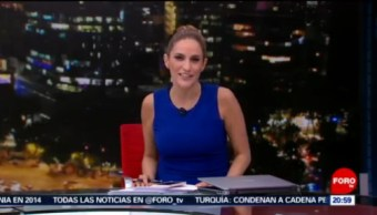 Foto: Las Noticias Danielle Dithurbide Forotv 20 Junio 2019