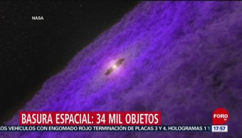 Foto: Láser destruirá basura espacial, informa agencia europea