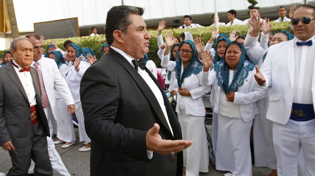 Foto Líder Iglesia Luz Mundo 6 Junio 2019