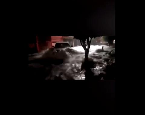 FOTO Lluvia en León, Guanajuato, genera inundaciones y afecta 300 casas (periodico correo 5 junio 2019 guanajuato)