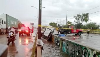 FOTO Lluvia en León, Guanajuato, genera inundaciones y afecta 300 casas (periodico correo 5 juio 2019 guanajuato)