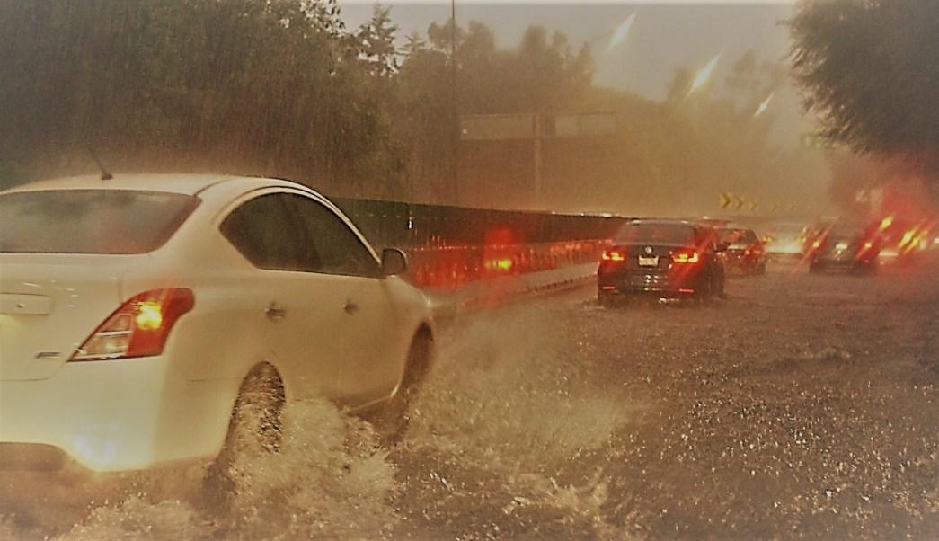 Lluvias en la CDMX dejan encharcamientos, árboles caídos y vehículos varados