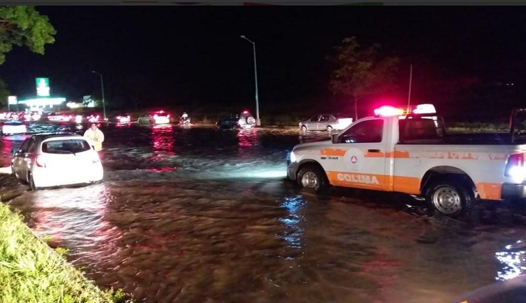 Foto: lluvias en Colima, 27 de mayo 2019. Twitter @PC_Colima