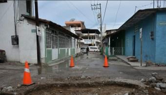 Foto: afectaciones por lluvias en Guerrero, 28 de junio 2019. Twitter @tecpanprogresa