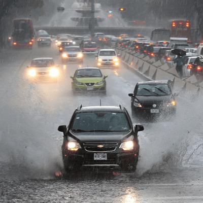 Se prevén lluvias para gran parte de la República Mexicana