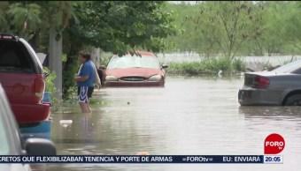 Foto: Lluvias Tamaulipas Dos Muertos Inundaciones 25 Junio 2019