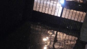 FOTO Lluvias provocan inundaciones en San Luis Potosí (codigosanluis 4 junio 2019 SLP)