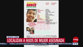 Foto: Localizan Hijos Mujer Asesinada Nuevo León 14 Junio 2019
