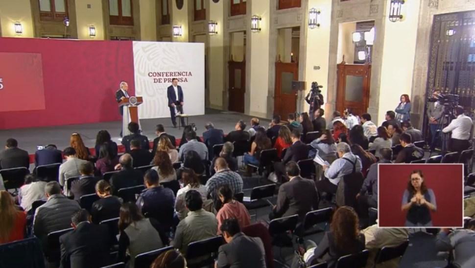 Foto: López Obrador habla sobre corrupción en conferencia de prensa, 26 de junio de 2019, Ciudad de México