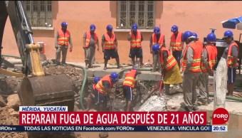 Foto: 21 Años Fuga Agua Mérida Yucatan 26 Junio 2019