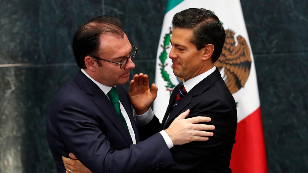 Foto: Luis Videgaray y Enrique Peña Nieto, 7 de septiembre de 2016, Ciudad de México