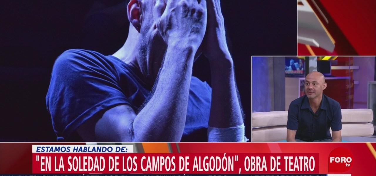 Manuel Domínguez presenta la obra 'En la soledad de los campos de algodón'