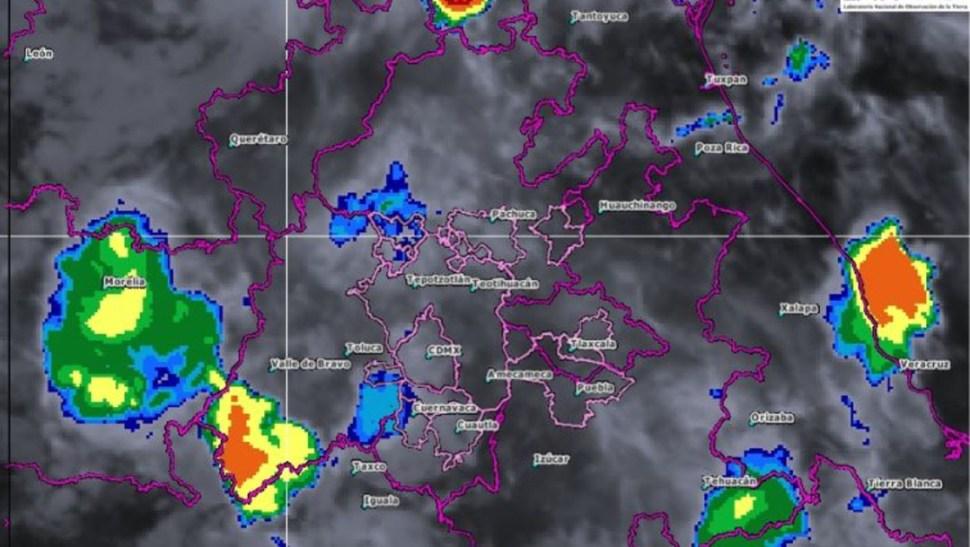 Foto: Imagen de satélite de las 05:50 horas, tiempo del centro de México, 22 junio 2019
