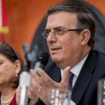 Foto: Marcelo Ebrard ofrece conferencia de prensa desde Washington, 3 de junio de 2019, Estados Unidos