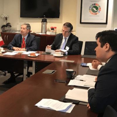 Ante ONU, México expone plan de desarrollo para Centroamérica