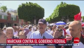 FOTO: Marchan contra el gobierno federal en otros estados, 30 Junio 2019