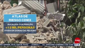 Foto: Zonas Cdmx Riesgo Derrumbes Deslaves 24 Junio 2019