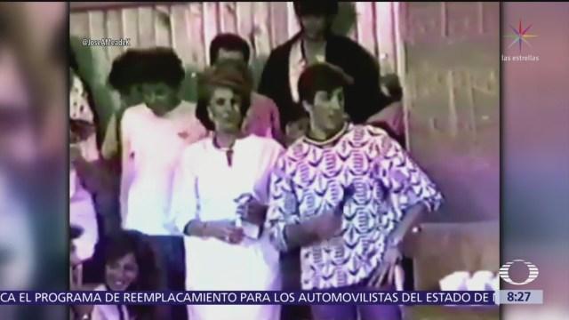 Meade y Alejandra Guzmán fueron compañeros de preparatoria