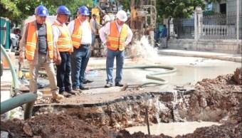 Foto: Megafuga de agua en Mérida, 26 de junio 2019. Twitter @JAPAYOficial