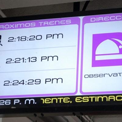 Metro CDMX muestra avance de trenes en tiempo real