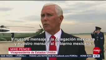 México debe proteger la frontera: Mike Pence