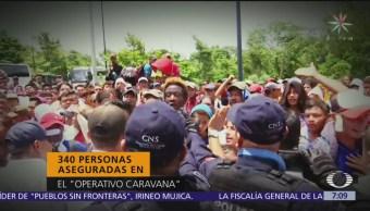 Migración comienza deportación de migrantes centroamericanos