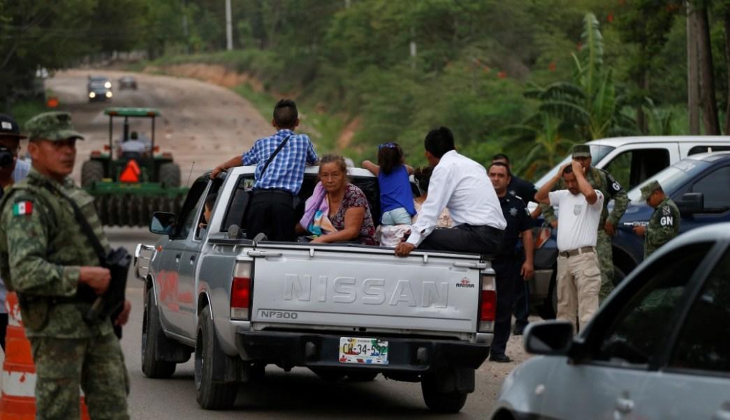 Foto: Migrantes centroamericanos en Chiapas, 15 de junio de 2019