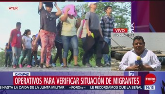 FOTO: Migrantes serán deportados cuando sean atendidos por sus cónsules