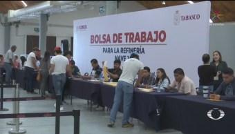 Foto: Empleo Refinería Dos Bocas Tabasco 4 Junio 2019