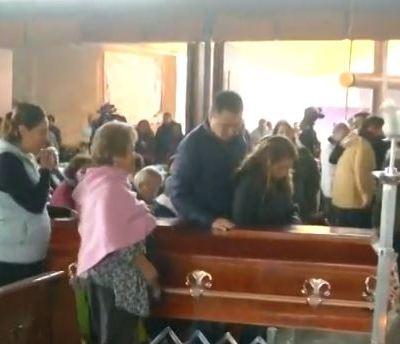 Ofrecen misa al estudiante Hugo Leonardo Avendaño; sus restos serán cremados