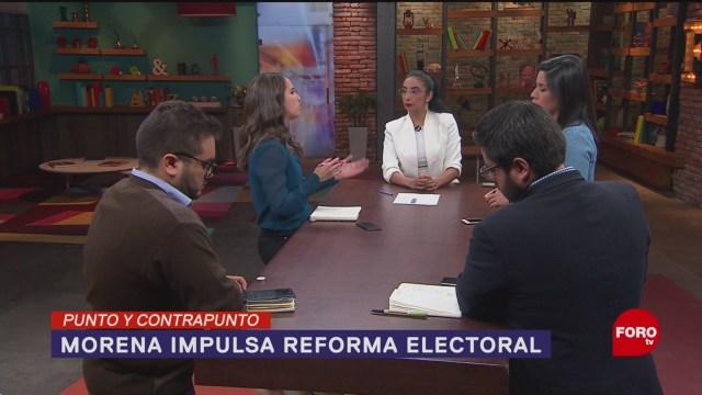 Foto: Morena Propone Cambios Sistema Electoral 17 Junio 2019