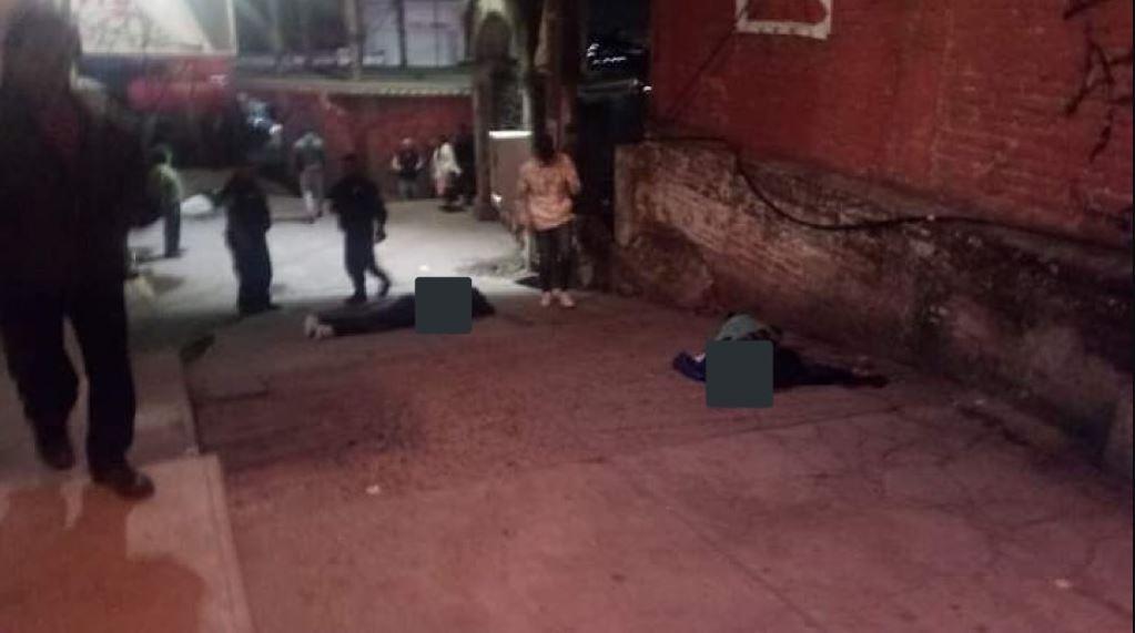 Foto: Los cuerpos fueron trasladados al Semefo para la necropsia de ley, el 9 de junio de 2019 (Grupos de emergencia)