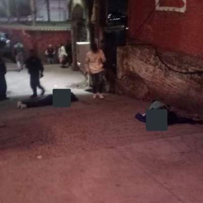 Balacera deja 3 muertos en Naucalpan, Estado de México