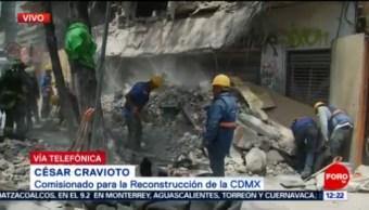 No fue derrumbe, afirma César Craviota, sobre siniestro en Tlalpan