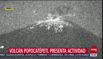 Foto: Nueva Fumarola Volcán Popocatépetl 6 Junio 2019