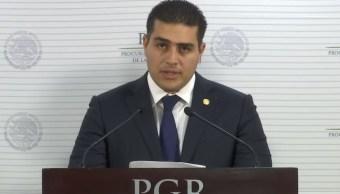 Imagen: Omar García Harfuch trabajó en la Procuraduría General de la República ahora Fiscalía General de la República, el 15 de junio de 2019 (YouTube Fiscalía General de la República)