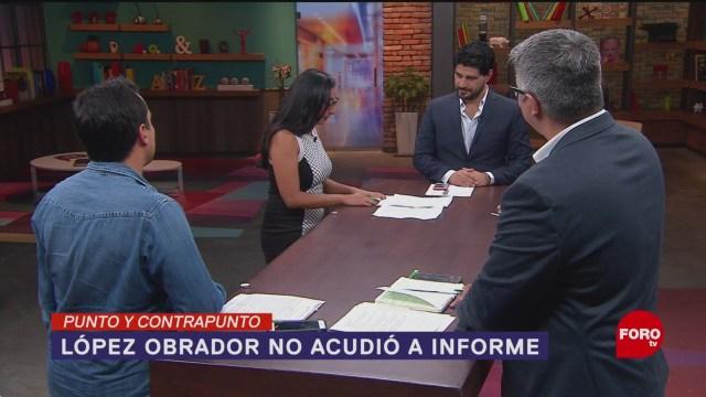 Foto: CNDH Informe Anual Ausencia Amlo 4 Junio 2019