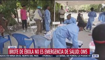 Foto: Oms Brote Ébola Congo Emergencia 14 Junio 2019