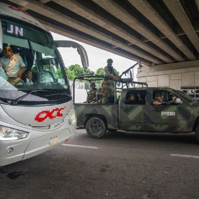 Intensifican operativos contra migración ilegal en Chiapas