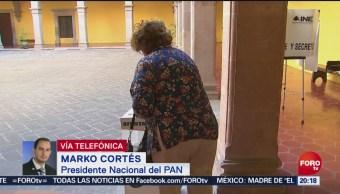 FOTO: PAN ganó en 4 estados: Marko Cortés, 2 Junio 2019