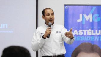 FOTO Marko Cortés, líder nacional del PAN, presentará una queja ante el INE por acto de AMLO en Dos Bocas (Twitter @MarkoCortes mayo 2019 tijuana)