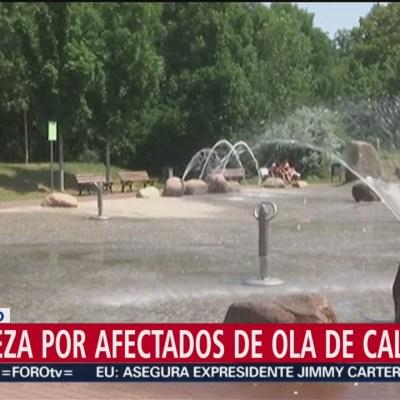 Papa reza por quienes sufren ola de calor en Europa