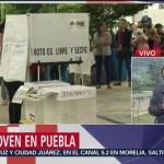 FOTO: Participación ciudadana en jornada electoral en Puebla alcanza 48%, 2 Junio 2019