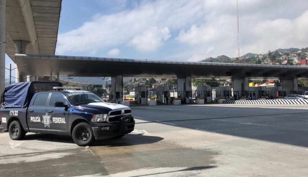 Foto PF impide que manifestantes tomen caseta México-Cuernavaca 27 junio 2019