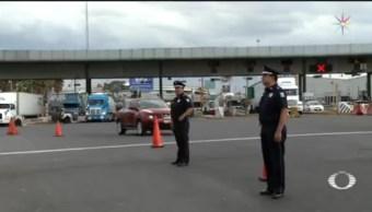 Foto: Policía Federal Operativo Toma Casetas 27 Junio 2019