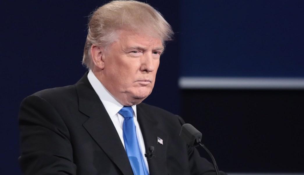 Foto: Donald Trump desmiente al diario The New York Times, que Washington intensifique los ataques cibernéticos contra Rusia en un nivel sin precedentes, junio 16 de 2019 (Getty Images)