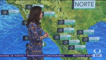 Pronostican lluvias sobre gran parte de México