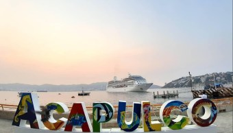 Foto: puerto de Acapulco, 13 de mayo 2019. Twitter @PoliturAcapulco