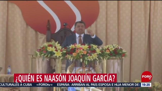 Foto: Detienen Líder Iglesia Luz del Mundo Naasón Joaquín García 4 Junio 2019