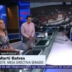Ratificación del T-MEC es una señal de firmeza y estabilidad positiva: Martí Batres,